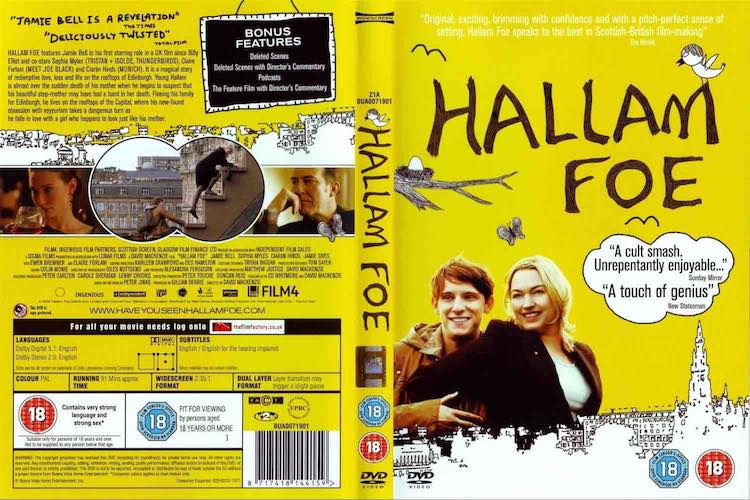 hallam foe film dvd packaging